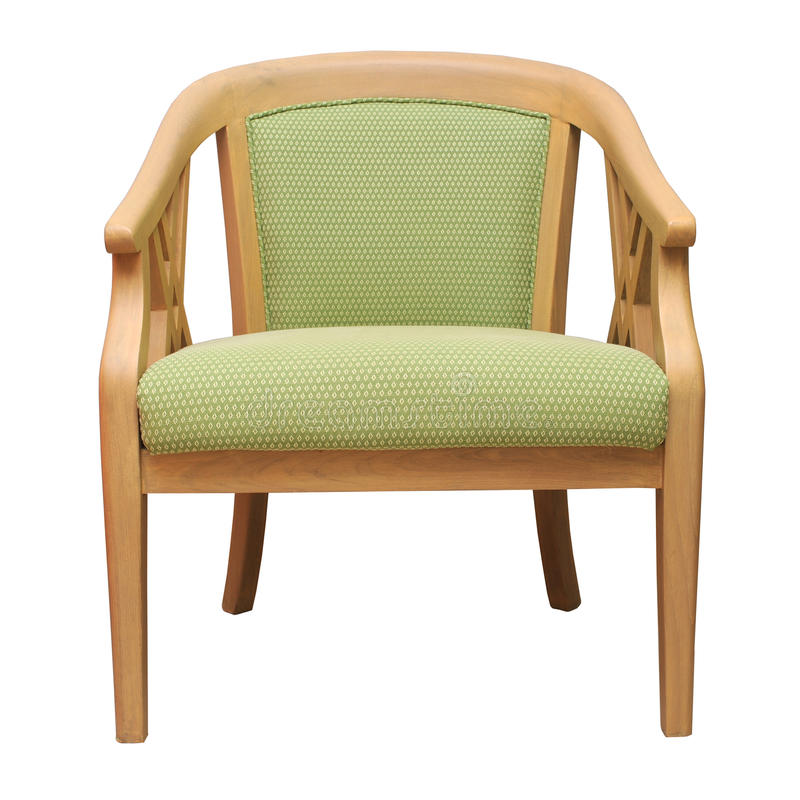 Download Armchair stock image. Image of wood, clipping, green - 28395321