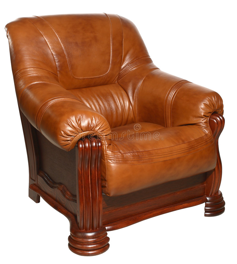 Download Armchair stock image. Image of genuine, armchair, white - 6629541