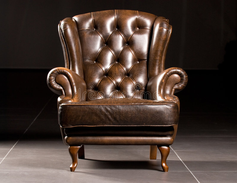 Download Armchair stock image. Image of design, brown, leather - 6700783
