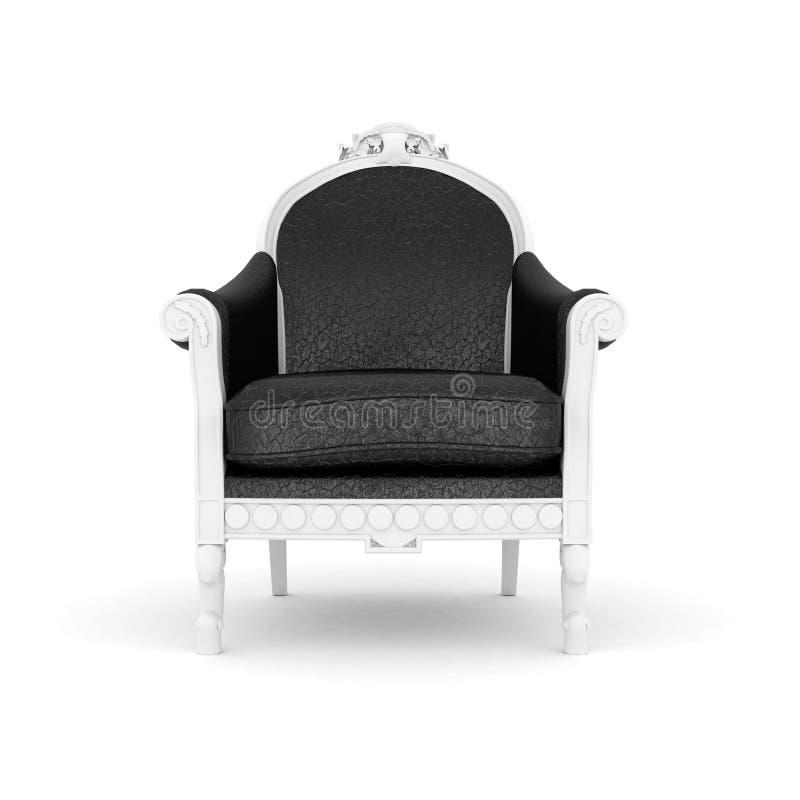 armchair leather royal иллюстрация вектора