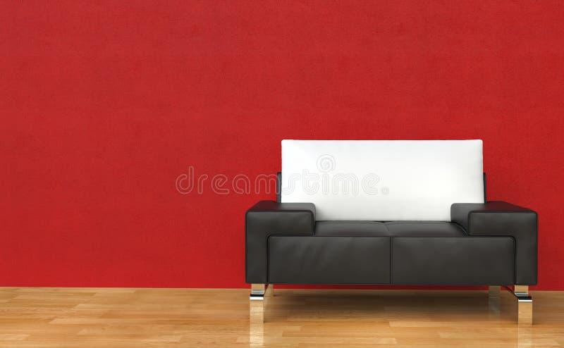 armchair leather royal иллюстрация штока