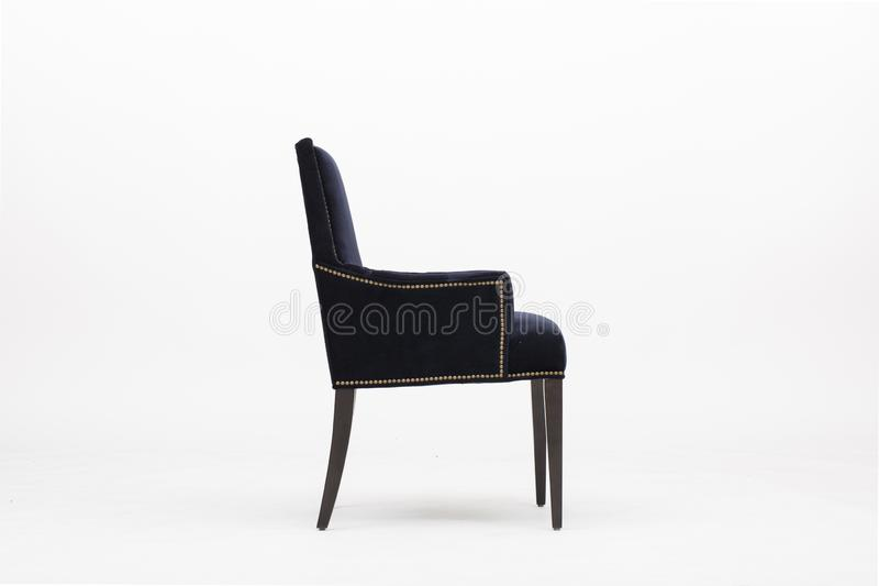 Dark color shield and heart-shaped chair backs - Image stock photography