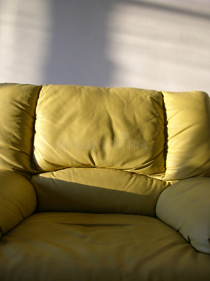 Armchair In Romantic Light royalty free stock photography