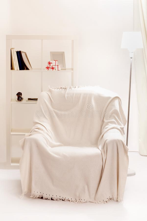 Download Armchair in the room stock image. Image of armchair, white - 33933599
