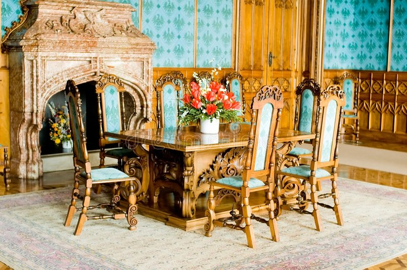Download Armchairs stock image. Image of ancient, marble, wood - 5159861
