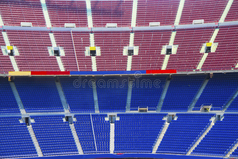 Armchairs  at the stadium