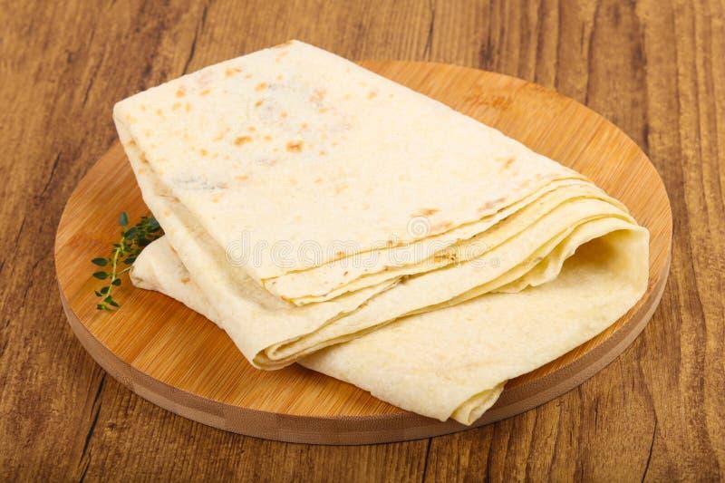 Armeński chleb - lavash zdjęcie royalty free
