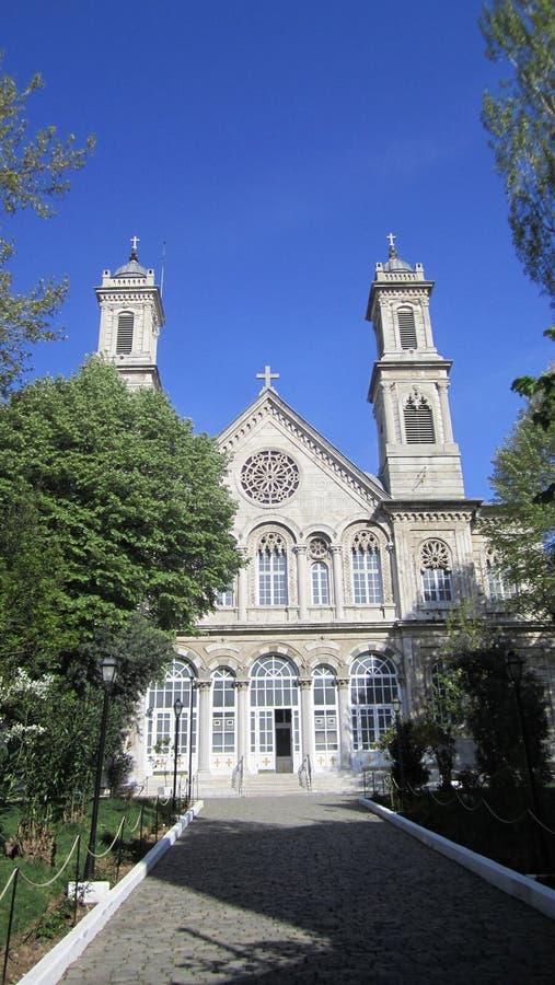 Armeński kościół w Istanbuł fotografia royalty free
