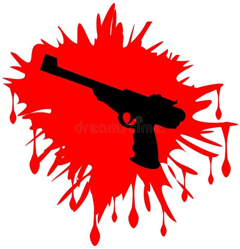 Arme à feu illustration stock