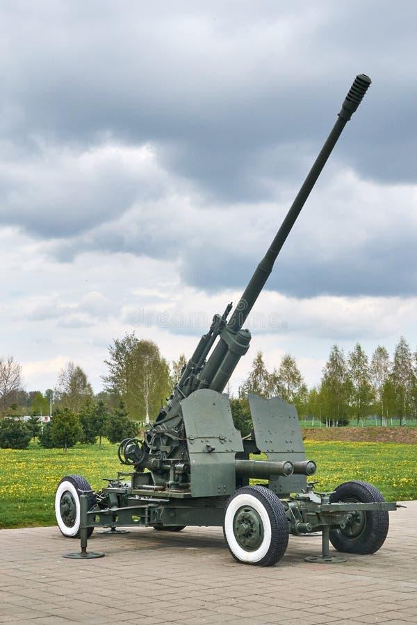 Arme à feu antiaérienne kc-19 images stock