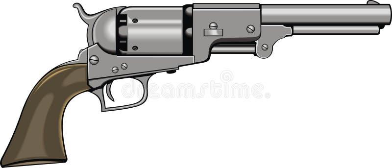 Arme à feu d'expert (pistolet) illustration stock