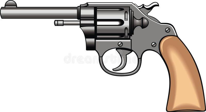 Arme à feu d'expert (pistolet) illustration de vecteur