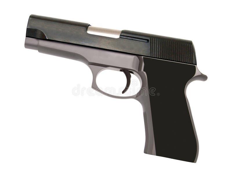 Arme à feu de pistolet automatique d'acier inoxydable image stock