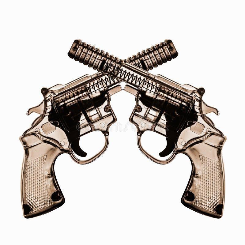 Arme à feu de plastique de jouet image stock