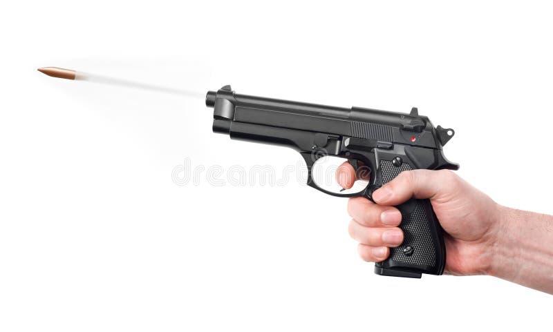 Arme à feu de tir image libre de droits