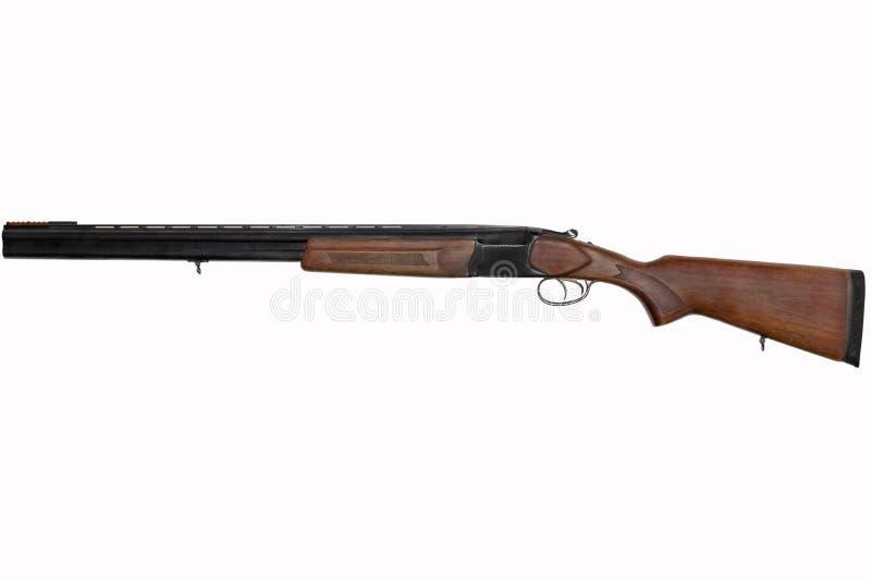 Arme à feu à deux coups classique avec les troncs verticaux images stock