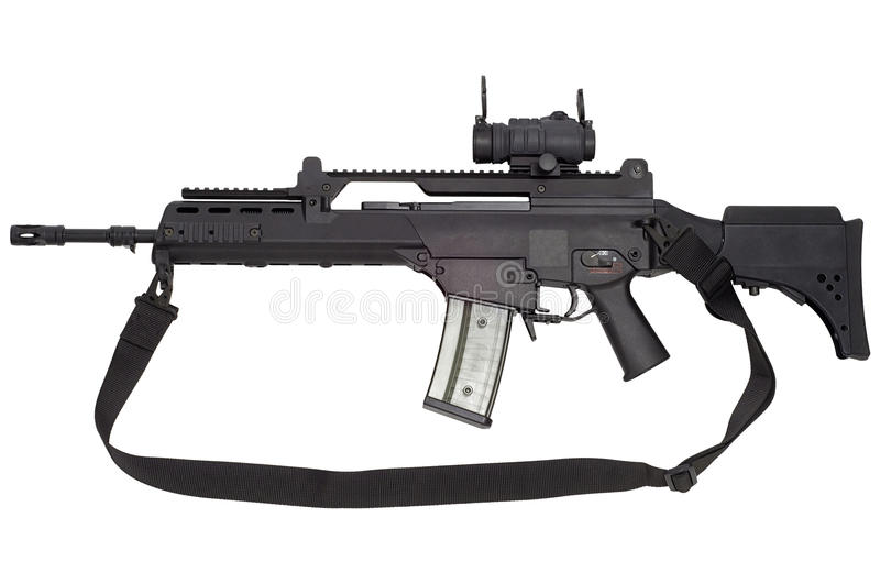 Arme automatique G36 images stock