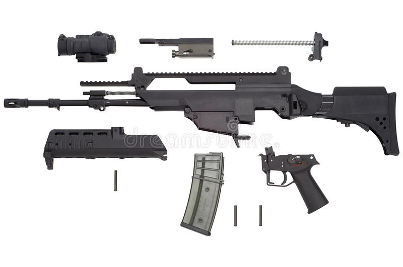 Arme automatique G36 photo stock