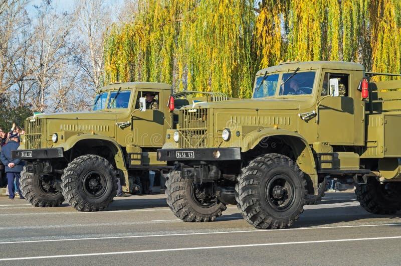 Arme KrAZ-255 photographie stock libre de droits