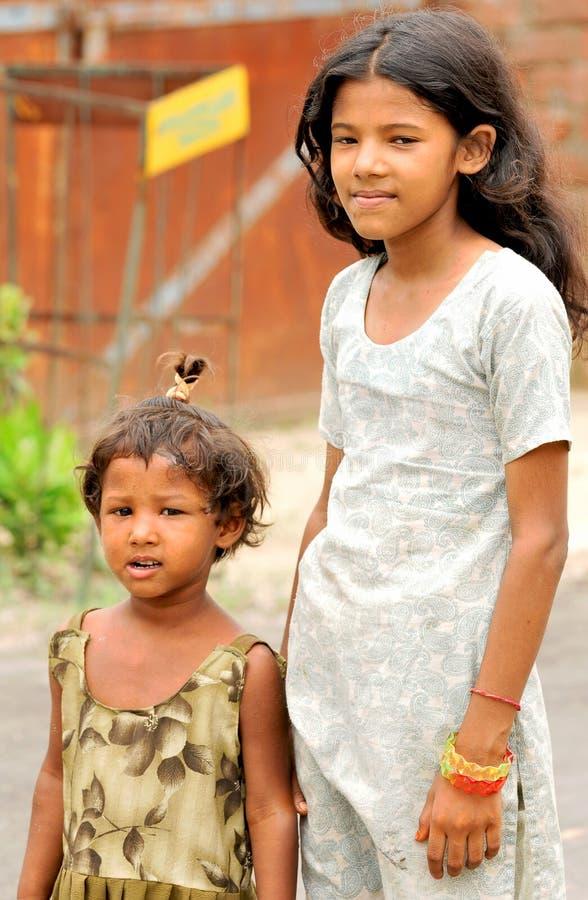 Arme Mädchen lizenzfreies stockfoto