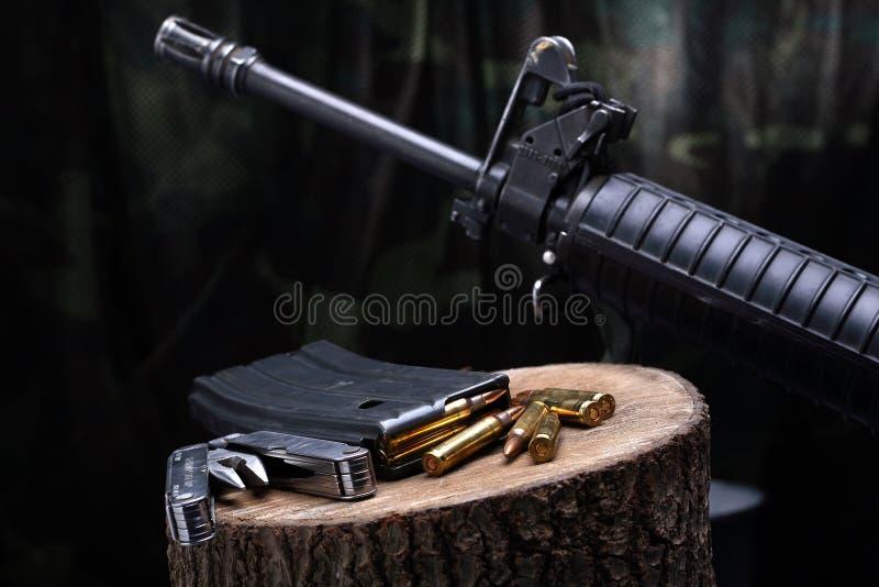 Arme M-16 photos stock