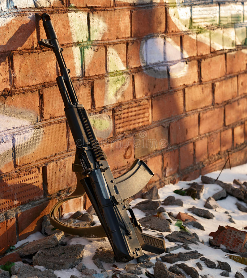 Arme mortelle photo stock