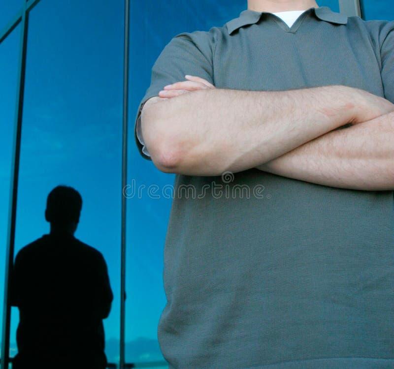 Arme und Reflexion lizenzfreies stockfoto