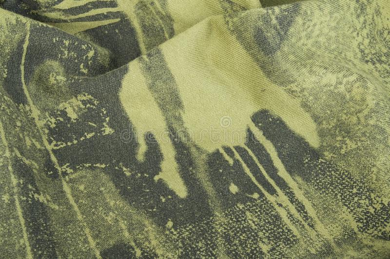 Armed force camouflage. Fabric texture. Macro shot royalty free stock image