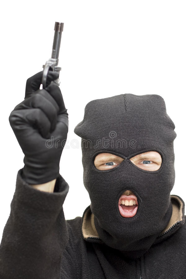 Download Armed Holdup stock photo. Image of creep, hostile, crim - 14129804