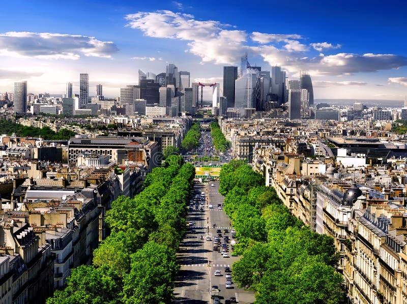 armee avenue de grande Λα στοκ εικόνα