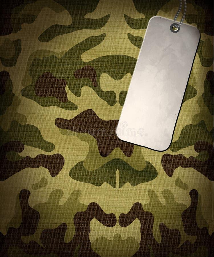 Armee camo Hintergrund lizenzfreie abbildung