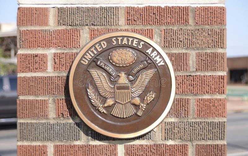 Armee der Vereinigten Staaten lizenzfreies stockbild