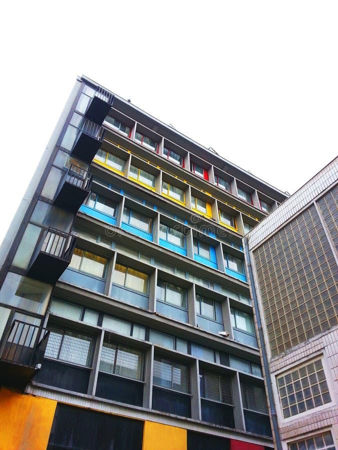 Armee du salut, Le Corbusier photographie stock