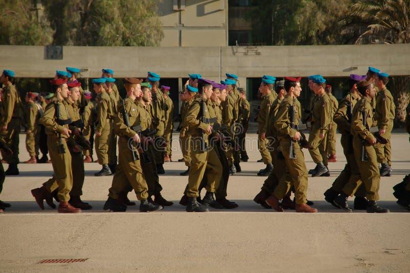 Armee prade stockfoto