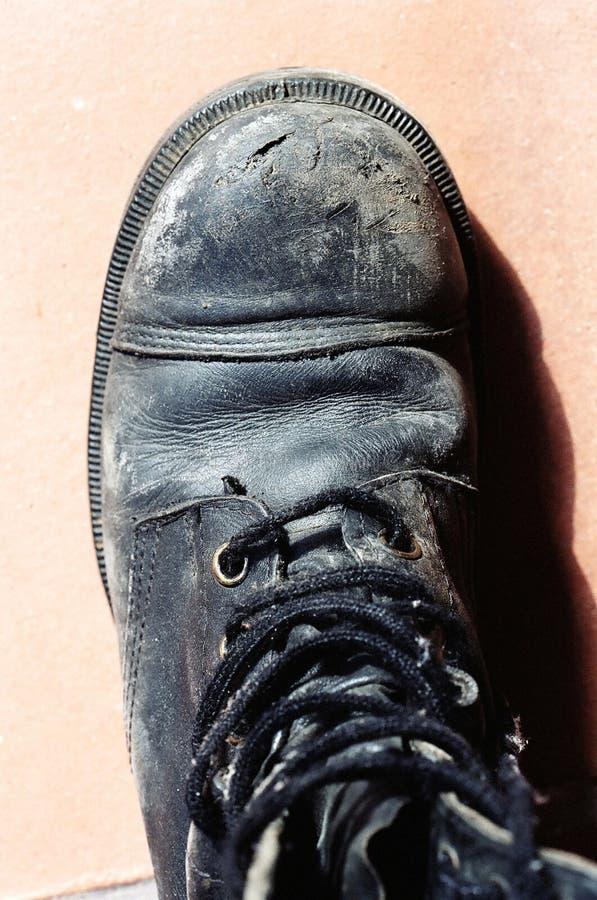 Armee-Stiefel stockbild