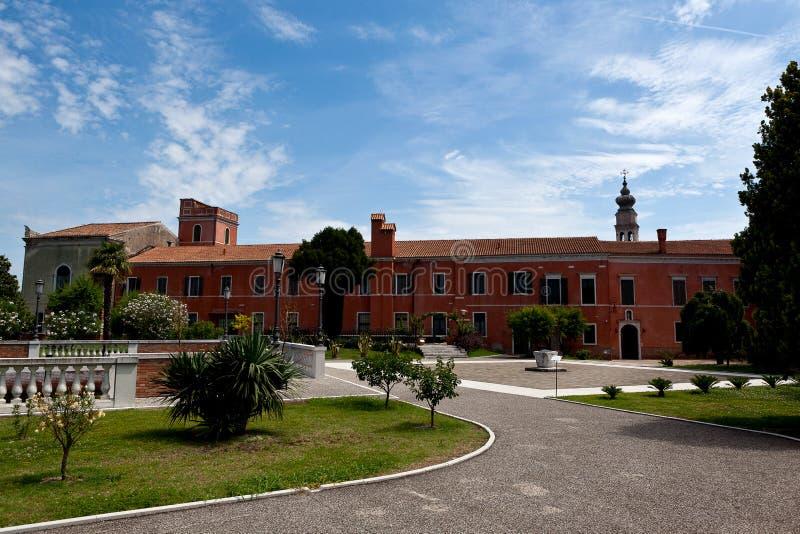 Armeens Klooster, degli Armeni, Venetië, Italië van San Lazzaro royalty-vrije stock afbeelding