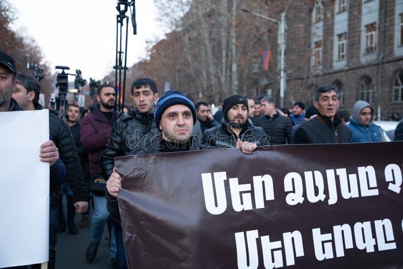 Armeens maart stock fotografie