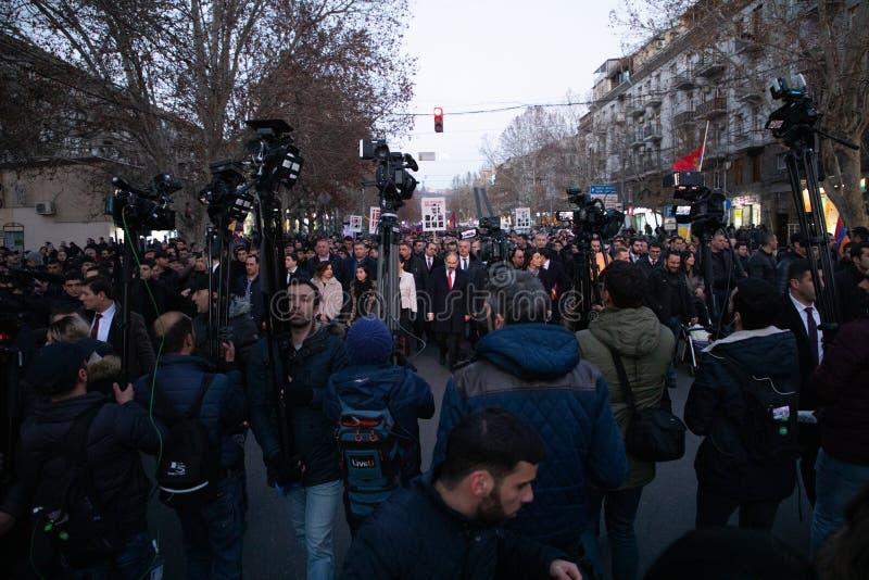 Armeens maart royalty-vrije stock fotografie