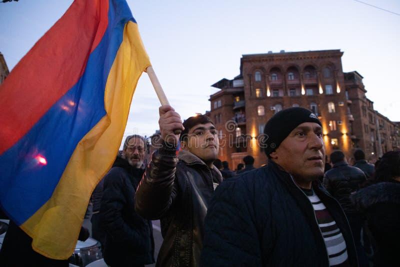 Armeens maart royalty-vrije stock foto's