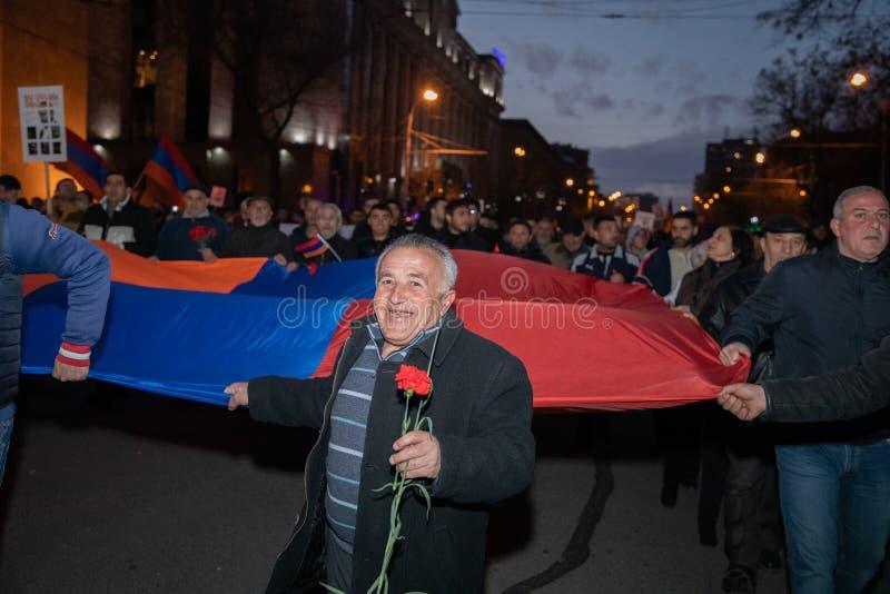 Armeens maart royalty-vrije stock afbeeldingen