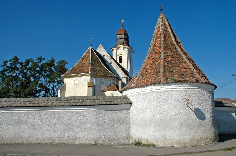 Armeense katholieke kerk in Gheorgheni, Roemenië royalty-vrije stock afbeeldingen