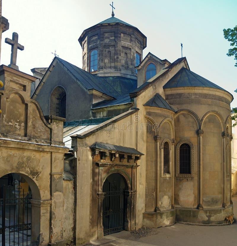 Armeense kerk stock afbeeldingen