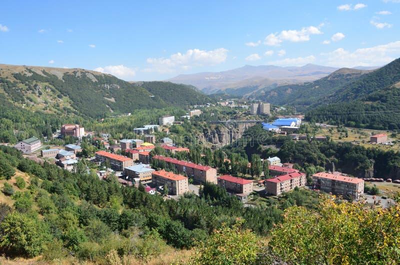 Armenië, Jermuk-toevluchtstad royalty-vrije stock afbeelding