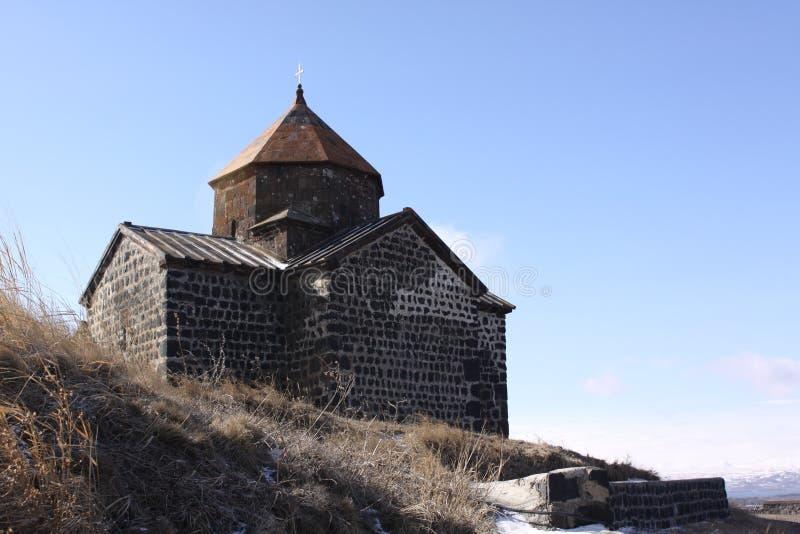 armenië Sevan Kerken St Arakelots en Astvatsatsin royalty-vrije stock afbeelding