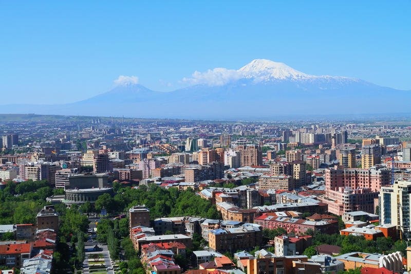 Armenië Yerevan stock foto's