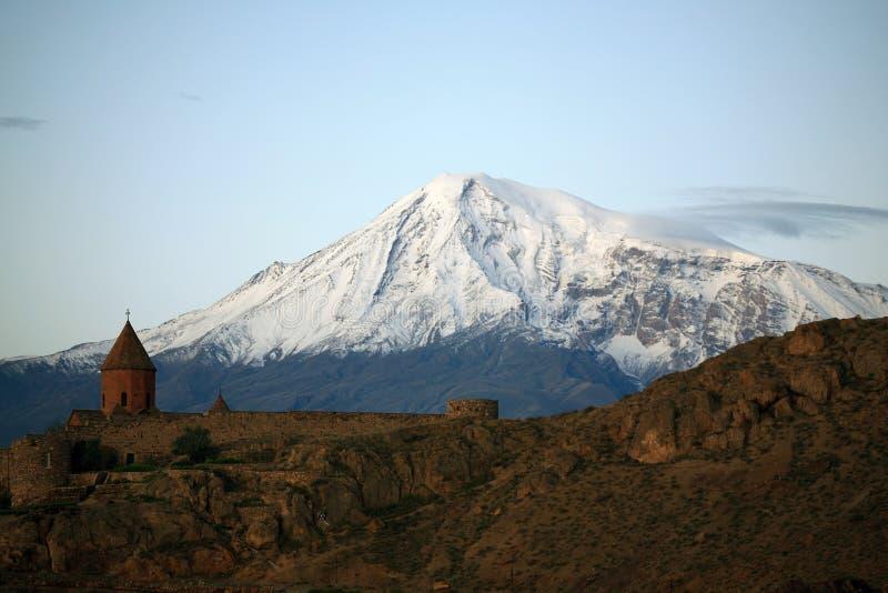Armenia. Ararat. Mañana fotos de archivo libres de regalías