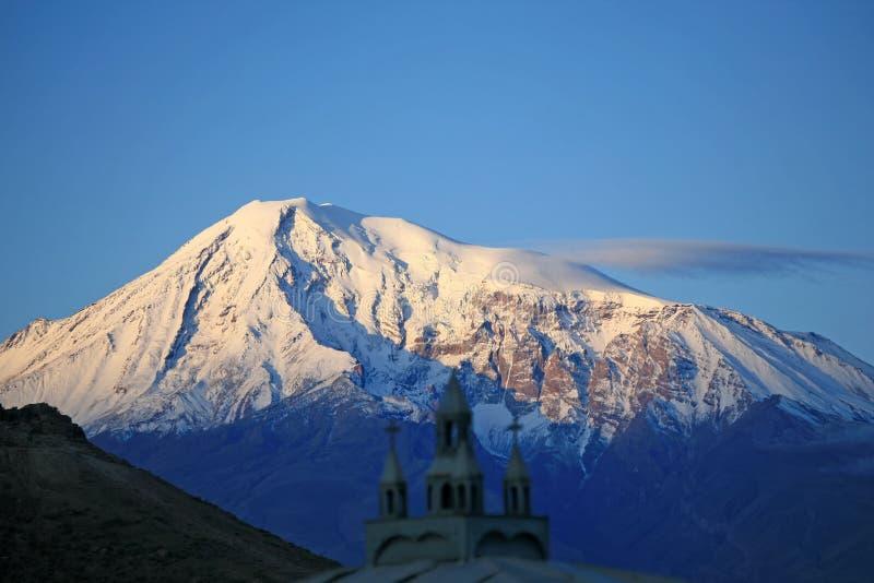 Armenia. Ararat. Mañana fotos de archivo