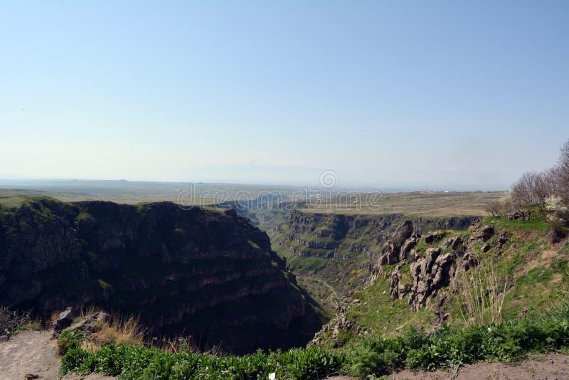 armenia Barranco del río de Kasakh imágenes de archivo libres de regalías