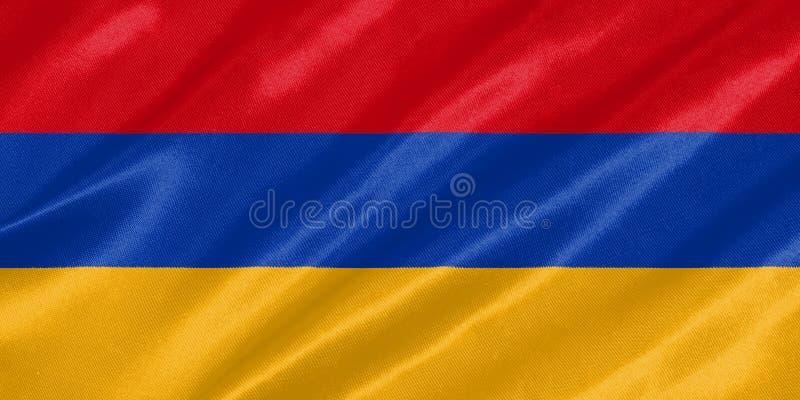 armenia flagga royaltyfria foton