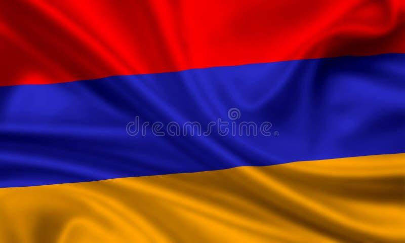 armenia flagga royaltyfri foto